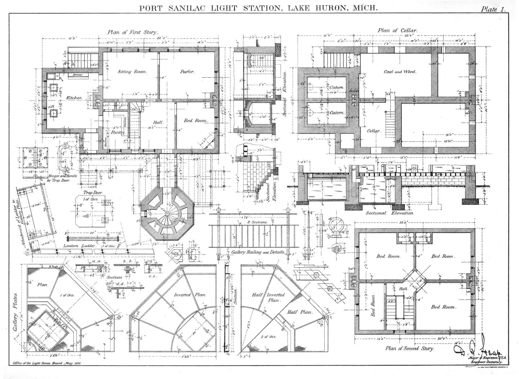 Port Sanilac LH Plate 1 Floor Plans 0