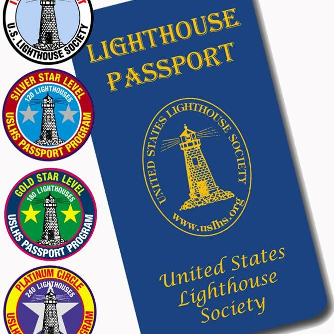 USLHS Passport 2 with patches logo